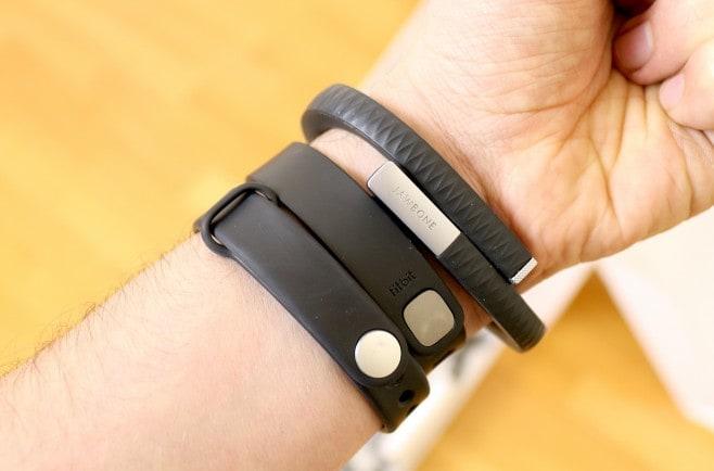 Xiaomi Mi Band - Fitbit Flex - Jawbone Up - polso - 2