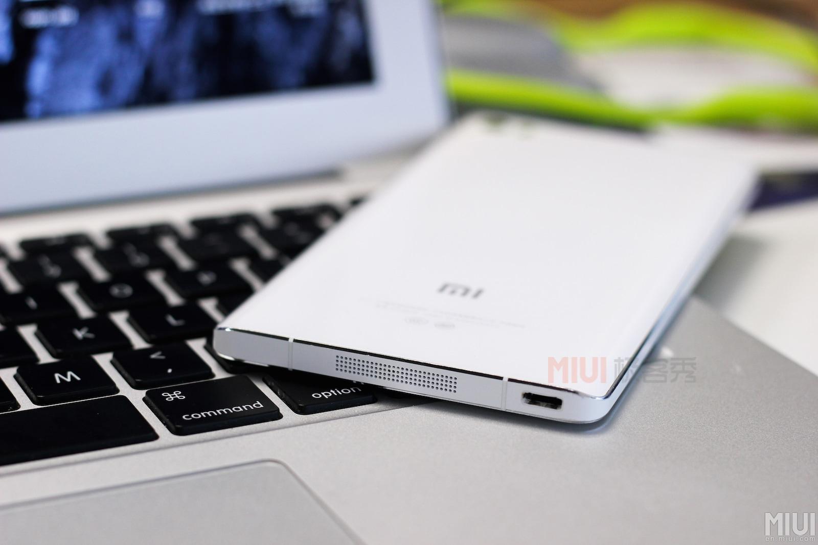 Xiaomi Mi Note hands-on close-up – 1