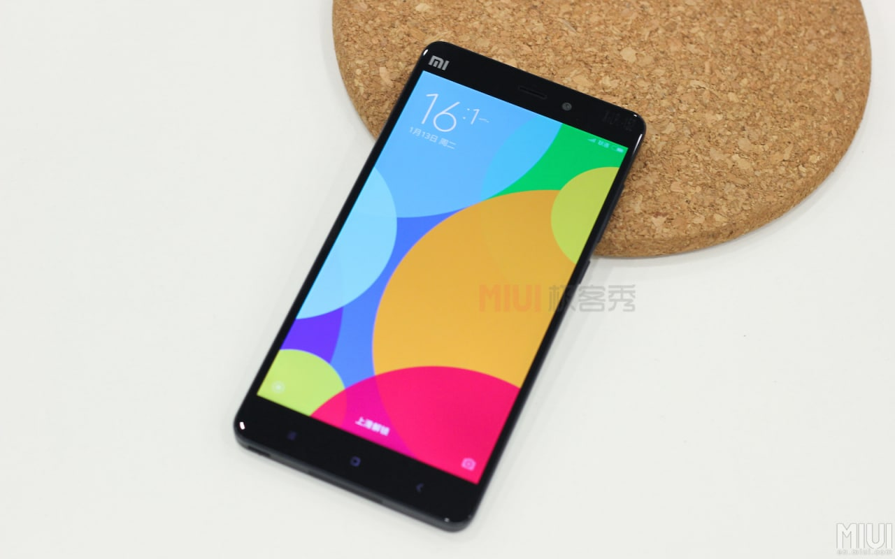 Xiaomi Mi Note hands-on close-up - 5