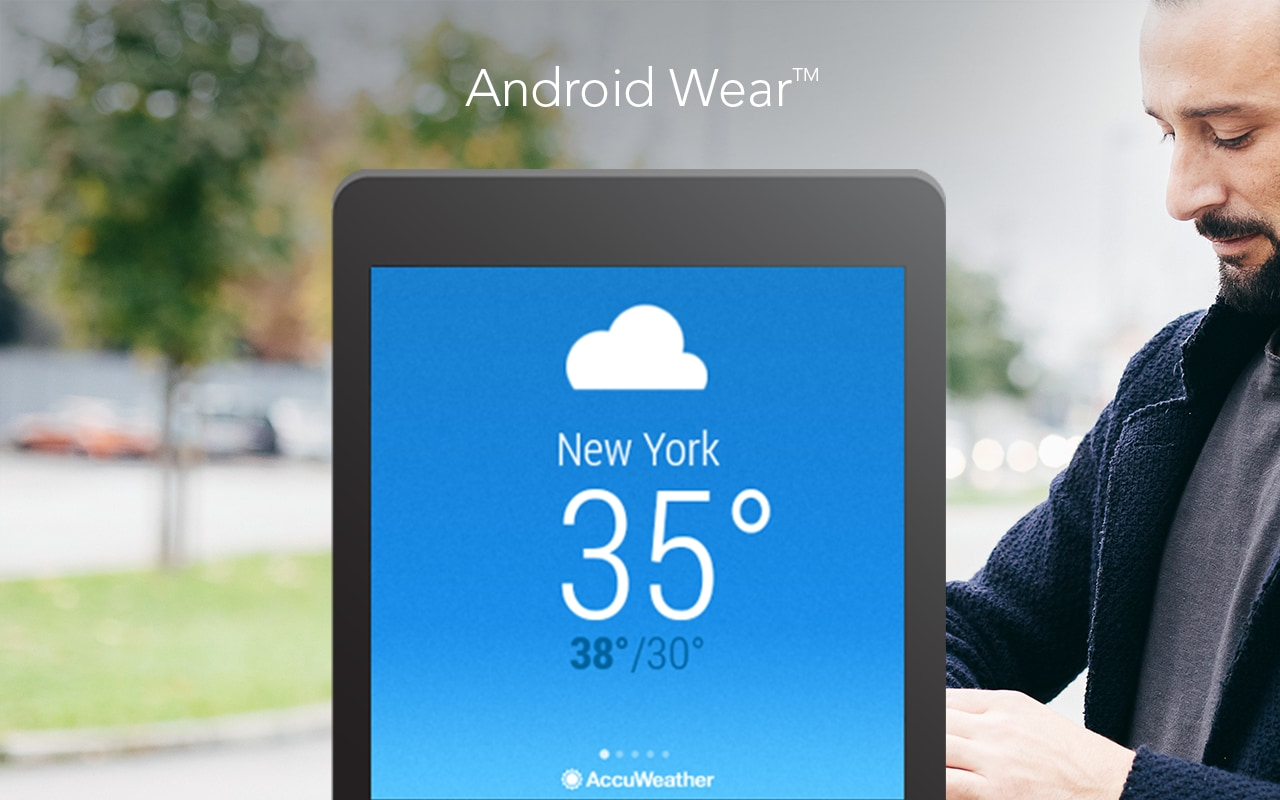 accuweather android wear meteo