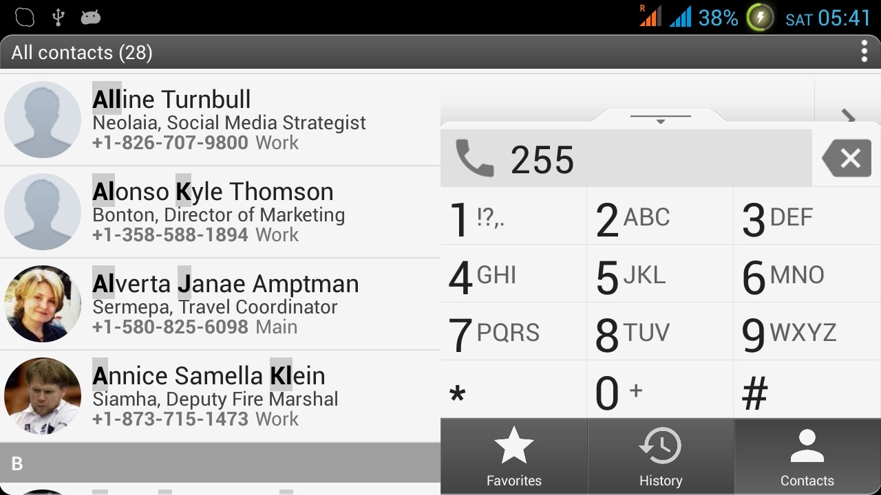 Gestione efficiente di dialer e contatti, anche nei dual SIM: aContact+++ Next (foto)