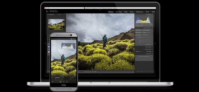 Adobe Lightroom ora supporta Raw, tablet e microSD