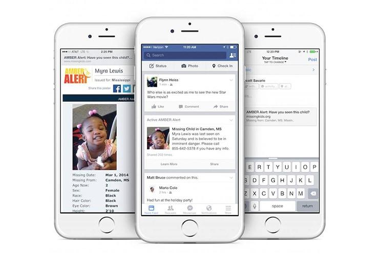 amber alerts facebook