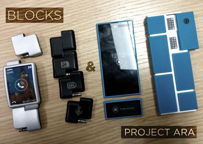 Google mostra interesse per Blocks e per gli smartwatch modulari
