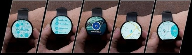 blue link android wear