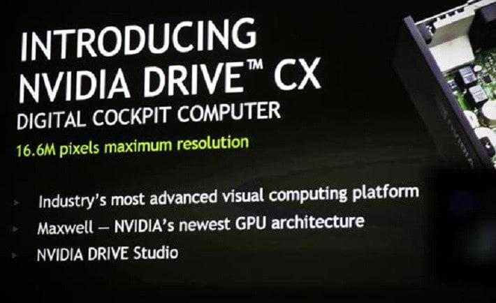 NVIDIA assale le automobili con Drive CX e PX