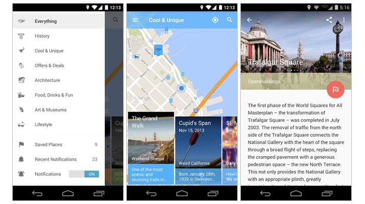 Field Trip si aggiorna e sembra un'app completamente nuova