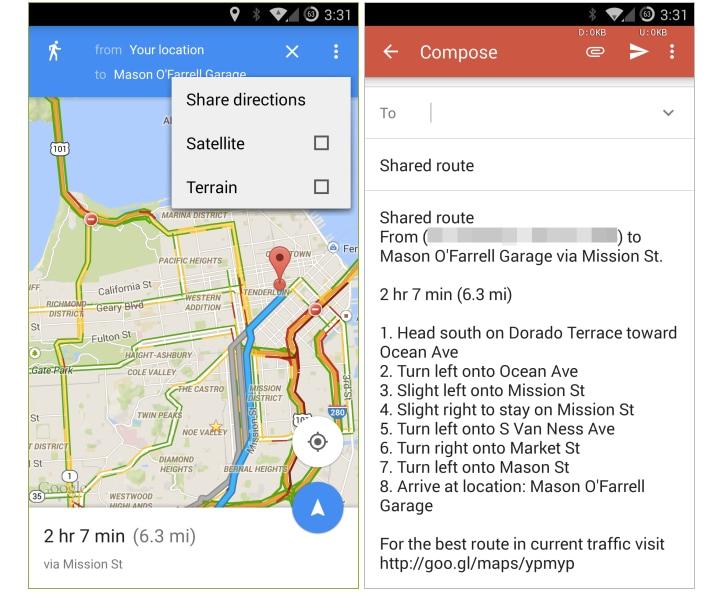 Google Maps introduce le indicazioni condivisibili nell'ultimo aggiornamento (download apk)