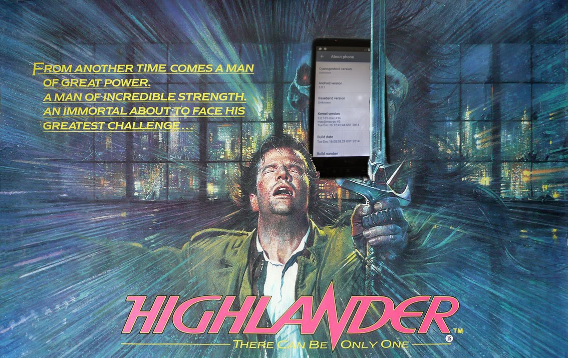 La leggenda continua: HTC HD2 ora anche con Lollipop (foto)