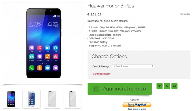 honor 6 plus oppomart
