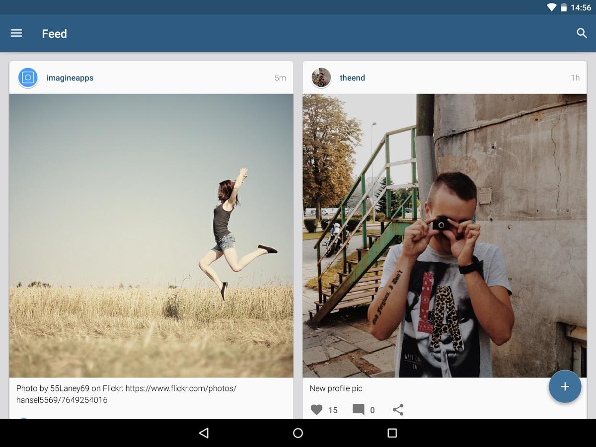 Instagram in Material Design diventa realtà con Imagine for Instagram