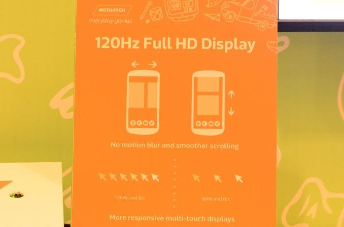 MediaTek mostra uno schermo per smartphone da 120Hz (video)