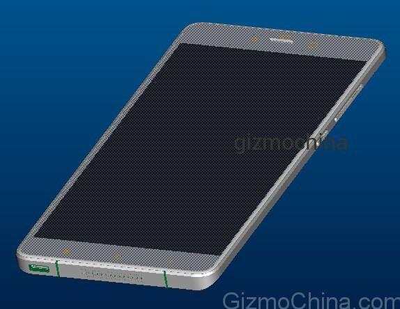 Xiaomi Mi4S in alcuni render 3D conditi con specifiche complete (foto)