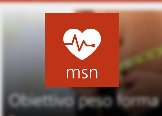msn salute e benessere_app microsoft stile di vita