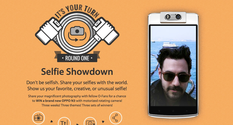 oppo n3 selfie concorso