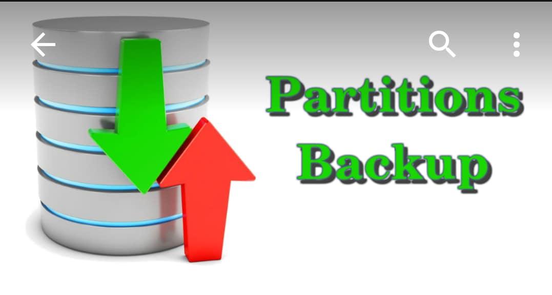 Mettere al sicuro le partizioni del dispositivo grazie all'app Partitions Backup (foto)