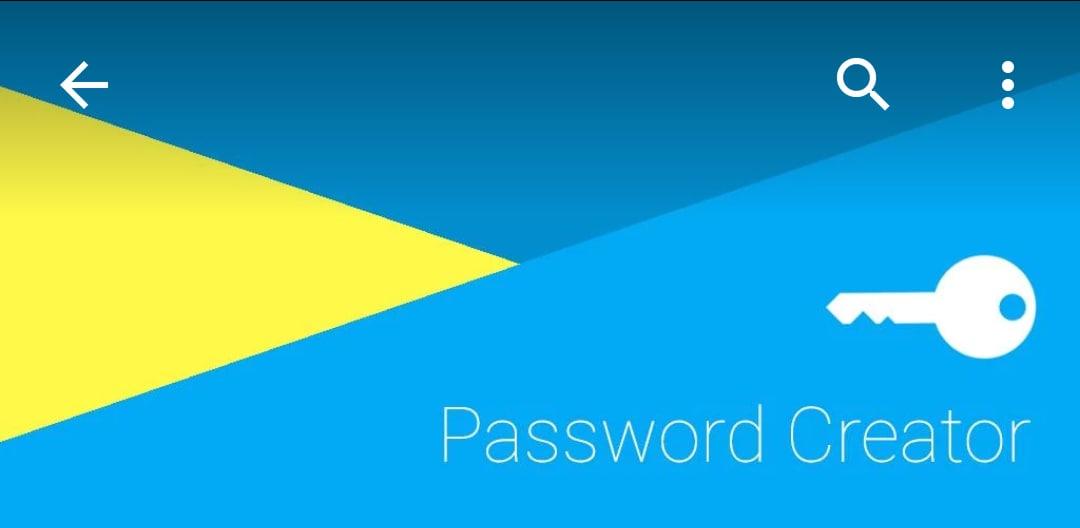 password creator_gestore password material design