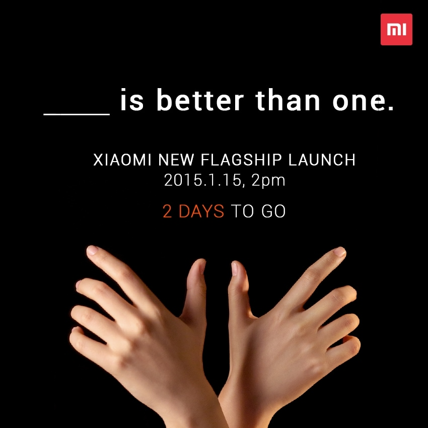 teaser due top xiaomi