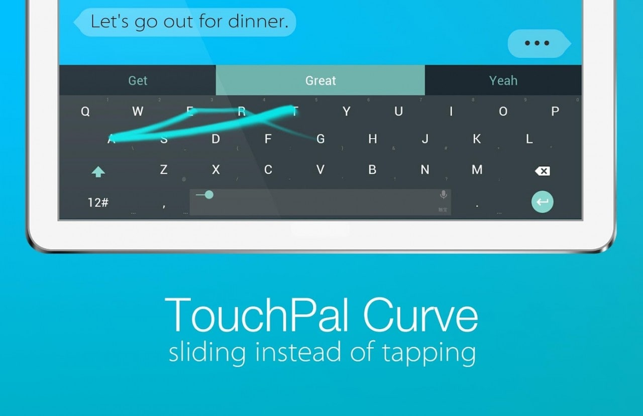 touchpal material