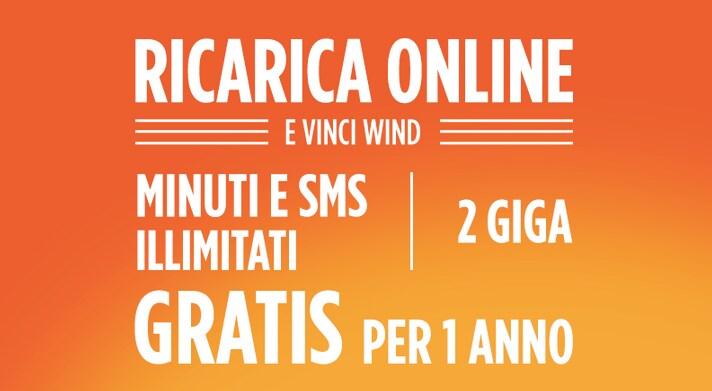 Wind mette in palio 70 All Digital Tutto Illimitato per un anno a chi ricarica online