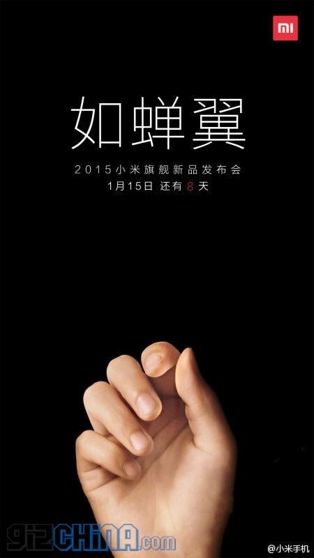 Anche Xiaomi pronta al lancio di un super-sottile smartphone?