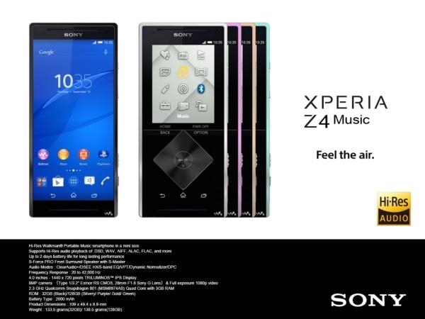 Xperia Z4 Music: photoshoppata di un vecchio Walkman o nuovo smartphone in arrivo?