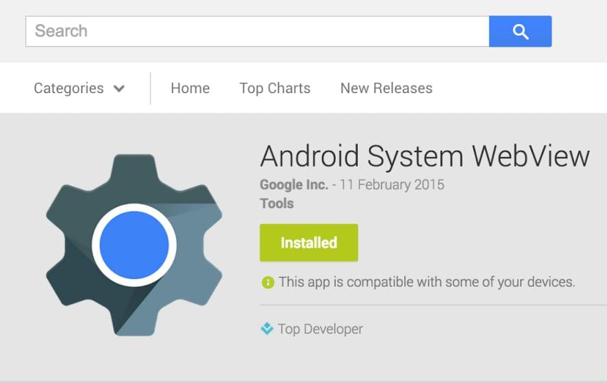 Android System WebView ora più veloce su dispositivi Tegra K1 (Nexus 9)