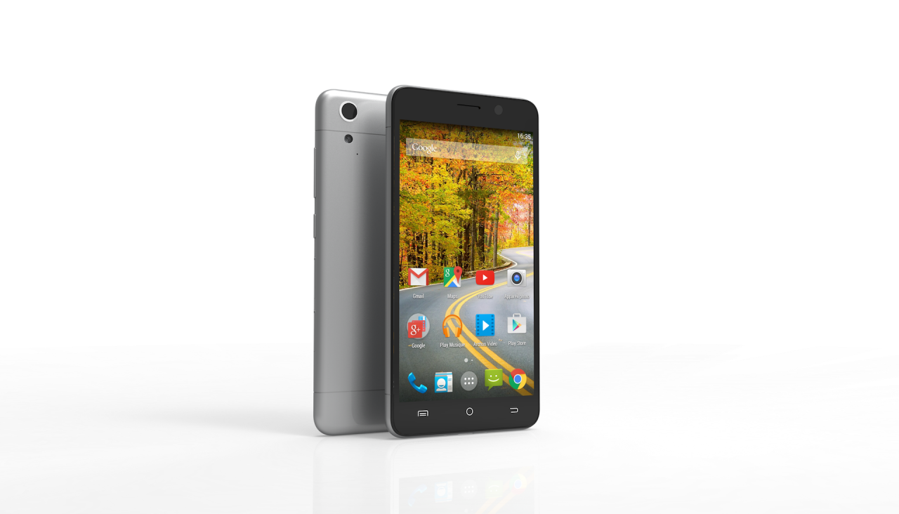 Archos 50 Oxygen press render - 2