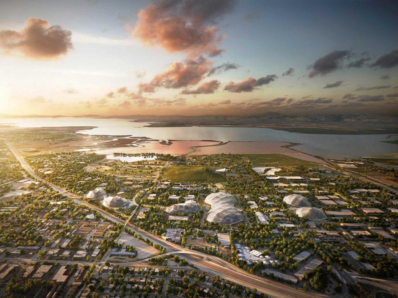 Google presenta il proprio progetto per la costruzione del nuovo campus (foto e video)