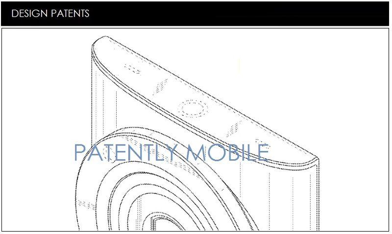 Galaxy K zoom brevetto