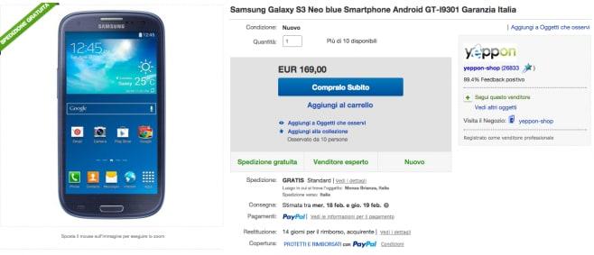 Galaxy S iii neo yeppon