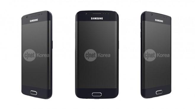 Galaxy S6 Edge presunti render ufficiali - 1