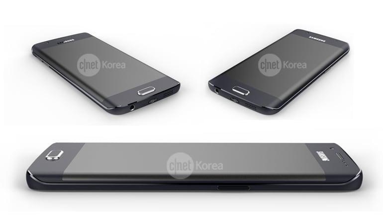 Galaxy S6 Edge presunti render ufficiali - 7