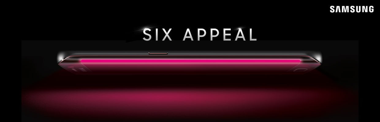 Galaxy S6 Edge render T-Mobile