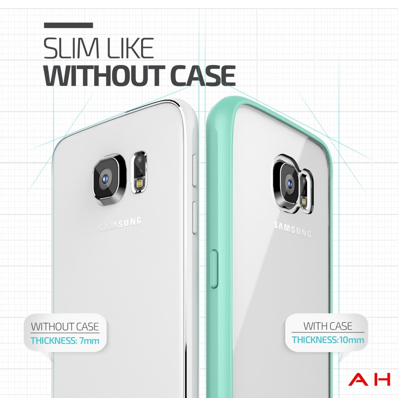 Galaxy S6 leaked custodie trasparenti – 1