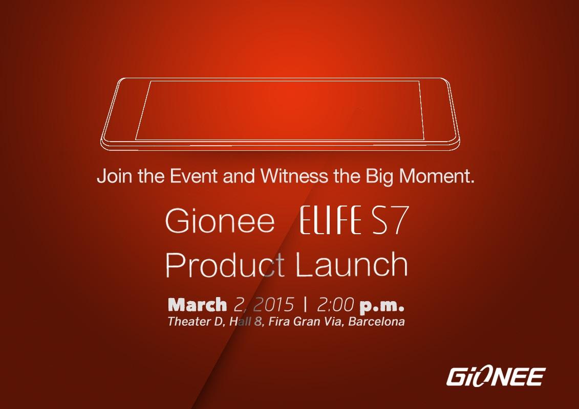 Gionee Elife S7 all'MWC 2015: il nuovo smartphone più sottile al mondo? (foto)