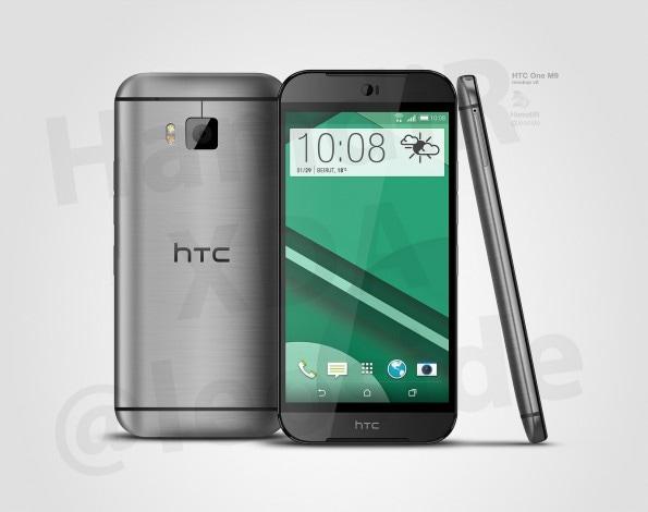 HTC One (M9) concept render- 2