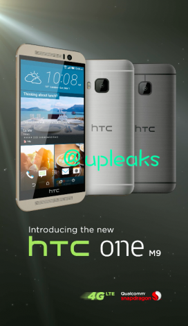 HTC One M9 poster