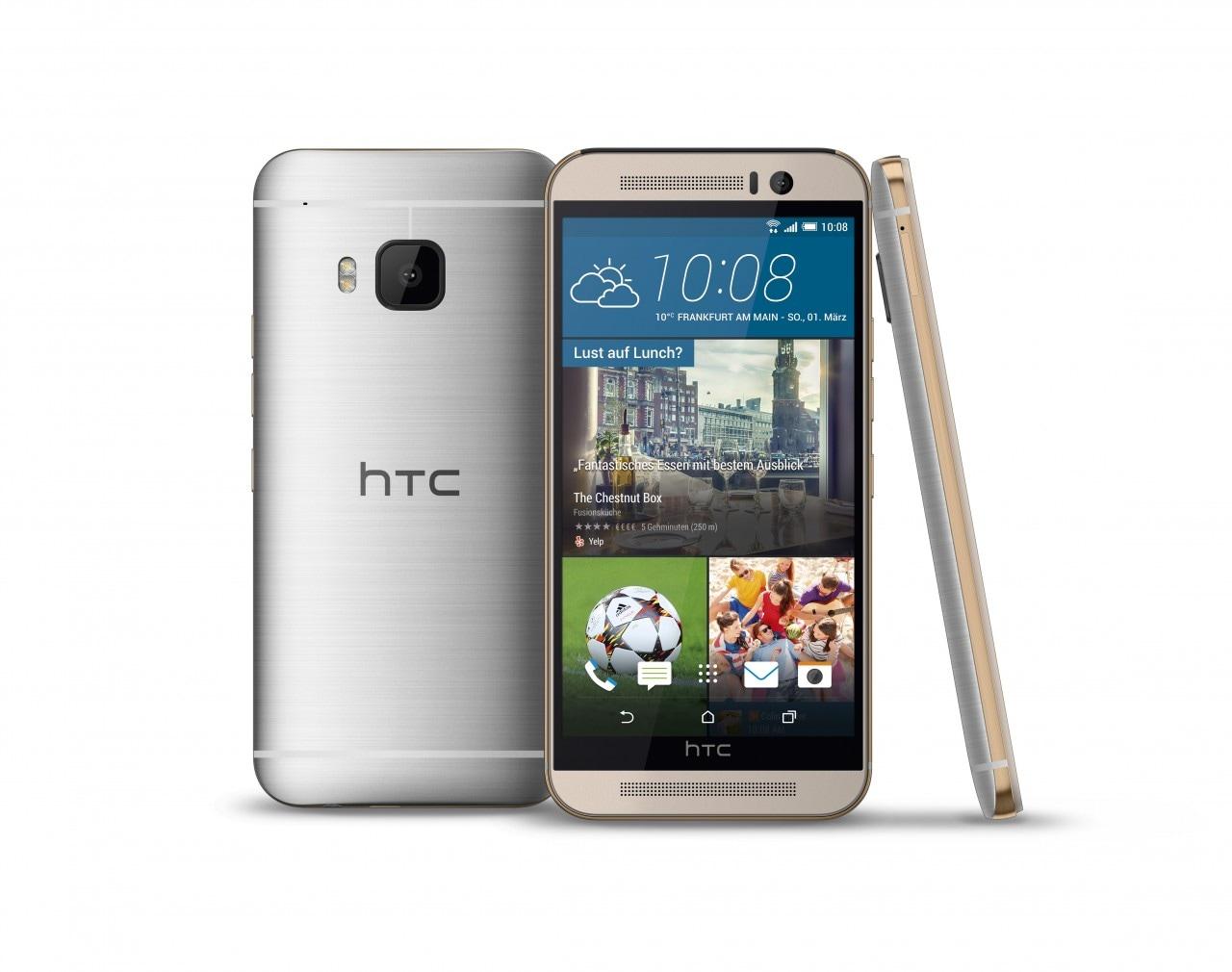 HTC One M9 render alta risoluzione - 2