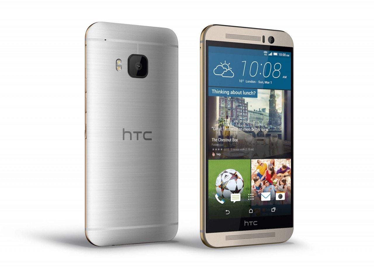 HTC One M9 è un piccolo fornetto, eseguendo GFXBench