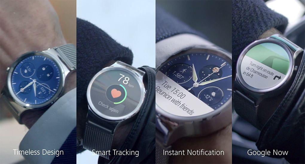 """Huawei Watch: lo smartwatch """"senza tempo"""", per lui e per lei (foto e video)"""