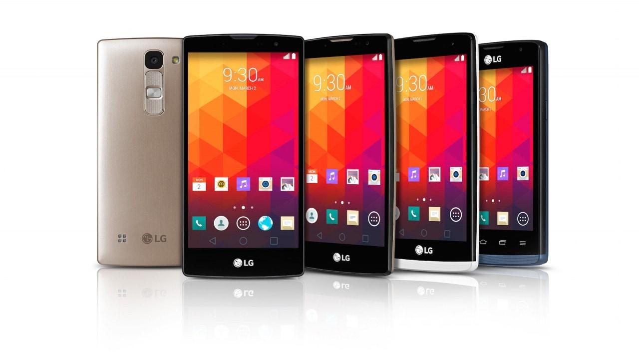 LG cala un poker amico dei selfie stick e con Lollipop: LG Magna, Spirit, Leon e Joy (foto)