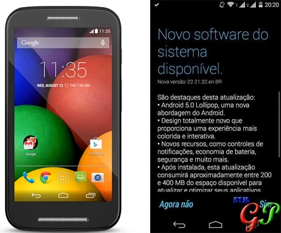 Ecco i primi screenshot di Moto E con Android 5.0.2 (foto)