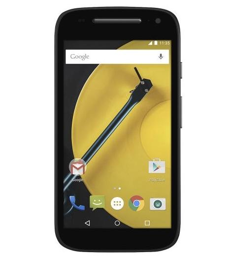 Motorola Moto E (2015) mostra le sue caratteristiche e il suo aspetto (foto)