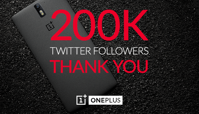 OnePlus Twitter