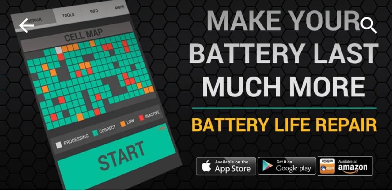 Ripara Durata Batteria è un'app così truffa/inutile che ce lo dice anche la sua descrizione!