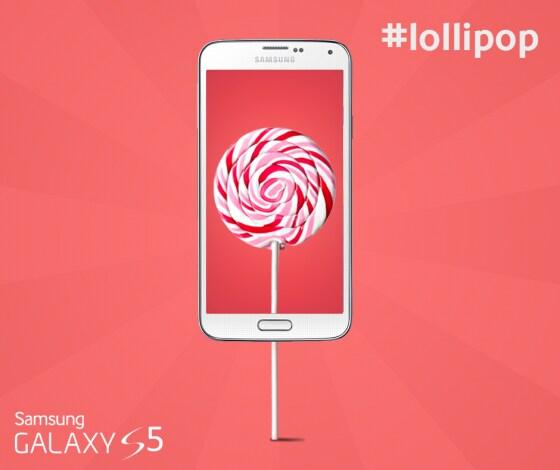Samsung Galaxy S5 Lollipop final