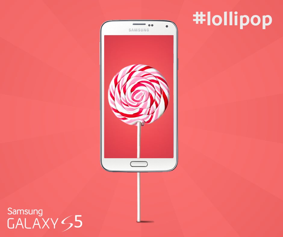 Samsung Galaxy S5 Lollipop final
