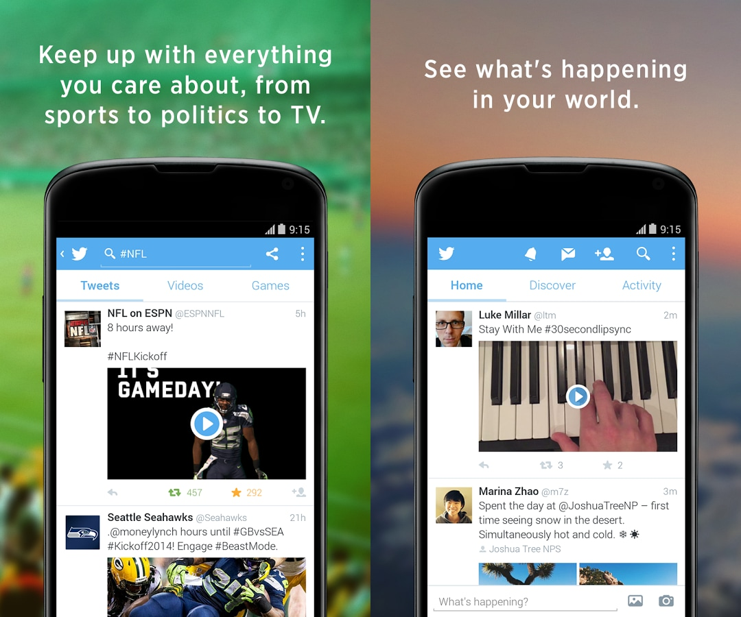 """Twitter porta su Android la funzione """"mentre eri via"""""""