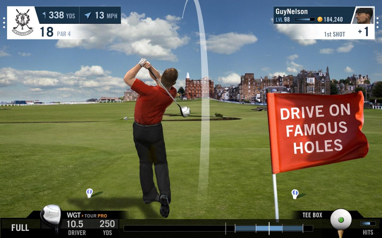 Vi piacciono i giochi di Golf? Provate WGT Golf Mobile! (foto e video)